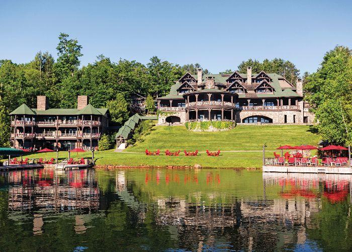 lake placid lodge entrance