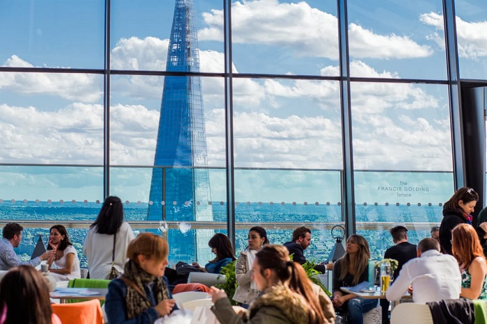 best tourist attractions in london hotel dining