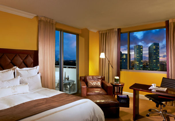 JW Marriott Miami room