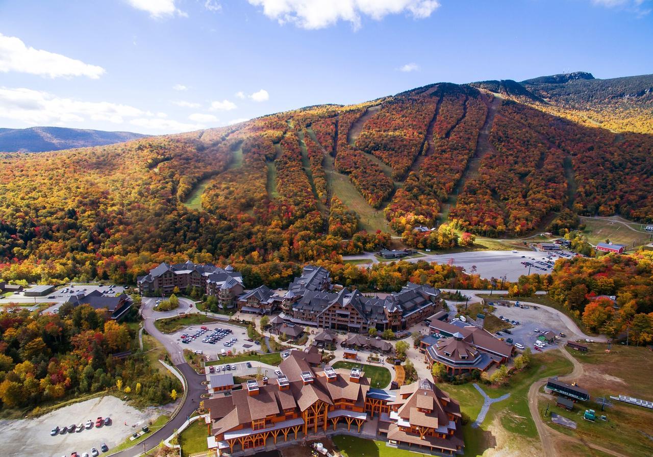 Stowe Mountain Drone shot